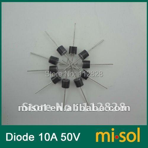 SCHOTTKY BARRIER RECTIFIER for solar panel DIY 50PCS 10A 50V Schottky Diode