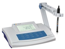 Free Shipping Lab Bench PH Meter Tester (-2.00~20.00)pH Accuracy:+-0.01pH
