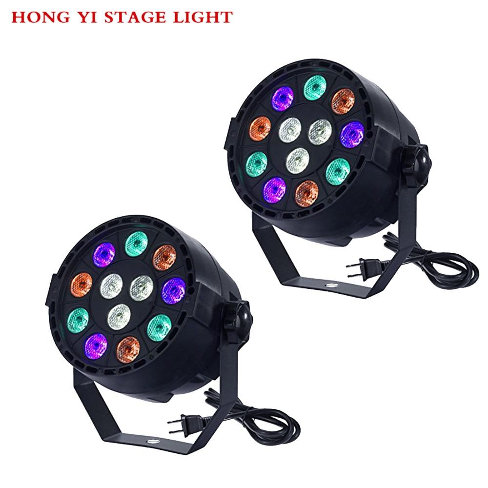 12X3W Par/Disco Lighting/Bar Dj Equipment/Christmas Lights/Par Lights 2pcs/lot