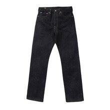 BOB DONG 28 oz Biên Vải Denim Jeans Cho Nam Giới Heavyweight Slim Fit Straight