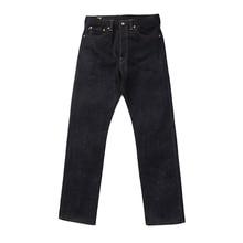 Мужские джинсы BOB DONG, прямые облегающие джинсы с острым краем 28 унций