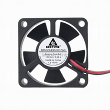 Gdstime 35mm 24V 35x35x10mm 3510 2Pin Ball Bearing Small Brushless DC Cooling Cooler Fan