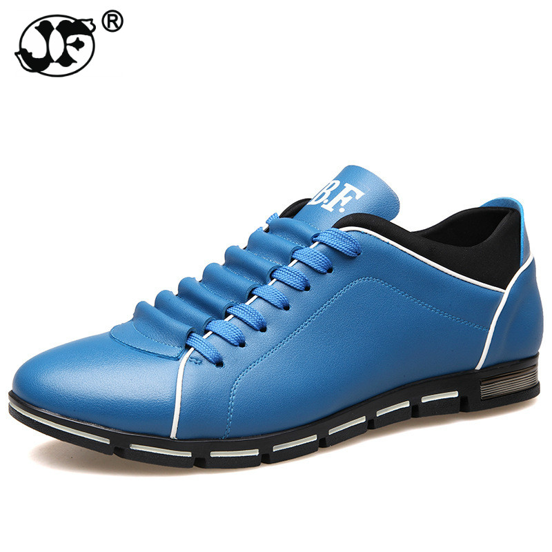 PU Leather Men Casual Shoes New 2018 Spring Autumn Fashion Men Shoes For Male Footwear Plus Size 45 46 47 48