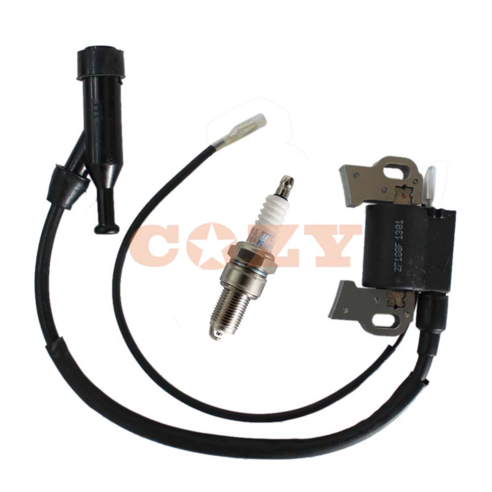 ignition coil spark plug for honda gx390 gx340 gxv240 gxv270 gxv340 gxv390  8hp 9hp 11hp 13hp