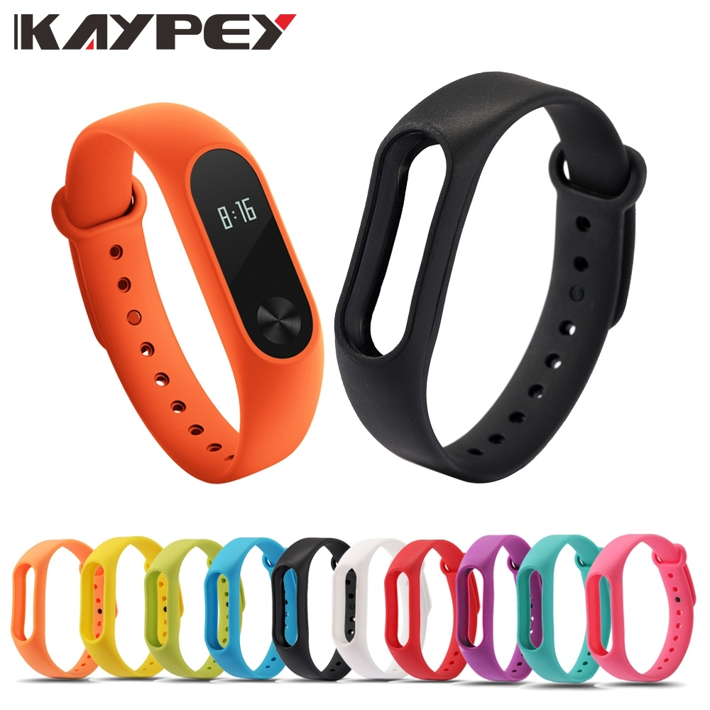 Mi Band 2 Colorful Strap Bracelet Accessories Pulseira Miband 2 Replacement Silicone Wriststrap Smart Wrist For Xiaomi Mi Band 2