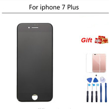 цена на 1Pcs AAA Quality 5.5 inch LCD Screen For iPhone 7 Plus LCD Display Digitizer Touch Screen Replacement Assembly For iPhone7P LCD