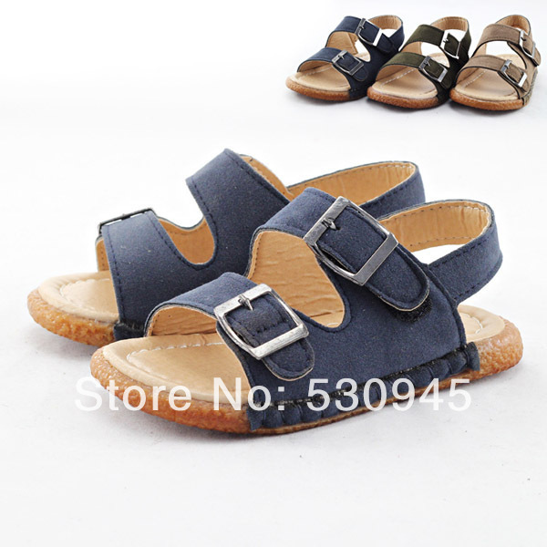 ac1634f9e2586 Pu leather Children Kids baby summer shoes