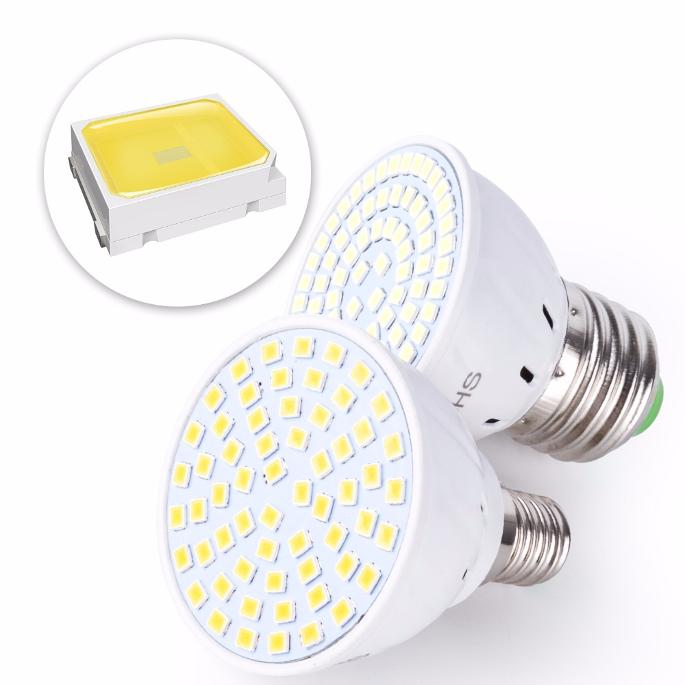 Light Bulbs Shop For Cheap Gu5.3 Led 230v Corn Lamp Gu10 Spot Led Ampul E27 Spotlight Bulb 48 60leds B22 Energy Saving Lighting E14 Home Decoration Smd2835 Soft And Antislippery