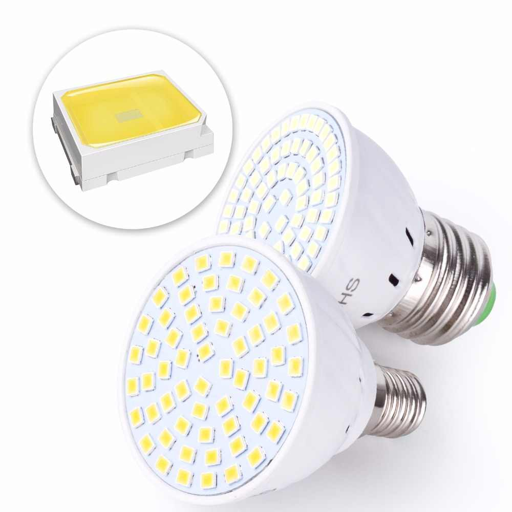 LED GU10 Spot ampul mısır lambası MR16 Lampada LED lamba 220V GU5.3 Spot ışık E27 Bombillas Led E14 ampul b22 led ampul 2835SMD
