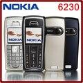 6230i original desbloqueado nokia 6230i 850 mah apoio teclado russo & árabe teclado celular frete grátis