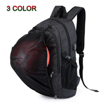 Men's Sports Backpacks with USB Charging 15.6 inch Laptop School Basketball Backpacks For Men&Women Outdoor Fitness Gym Bags