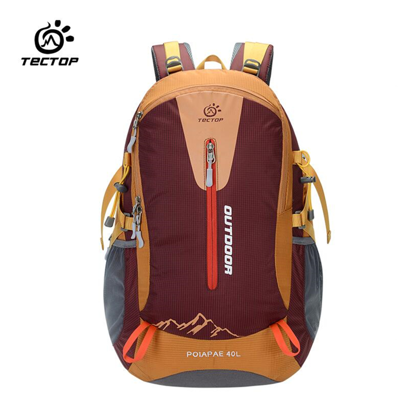 40L Nylon outdoor backpacks rucksack sport backpack bag mountaineering waterproof travel hiking bag with rain cover life whistle naturehike outdoor professional mountaineering backpack big capacity 70l climbing bag waterproof hiking backpacks rain cover