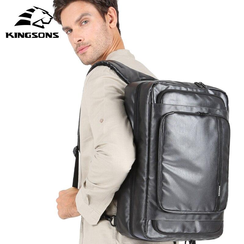 Kingsons Multifunction Travel Large Capacity Backpacks Customs Lock Shoulder Cross body MaleMini Journey Business Trip Hand