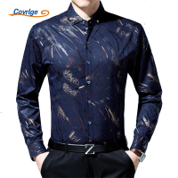 Covrlge 2018 Spring Men Business Social Shirt Luxury Brand Men S Shirt 100 Cotton Long Sleeve