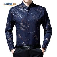 Covrlge 2018 Spring Men Business Social Shirt Luxury Brand Men S Shirt 100 Cotton Long Sleeve