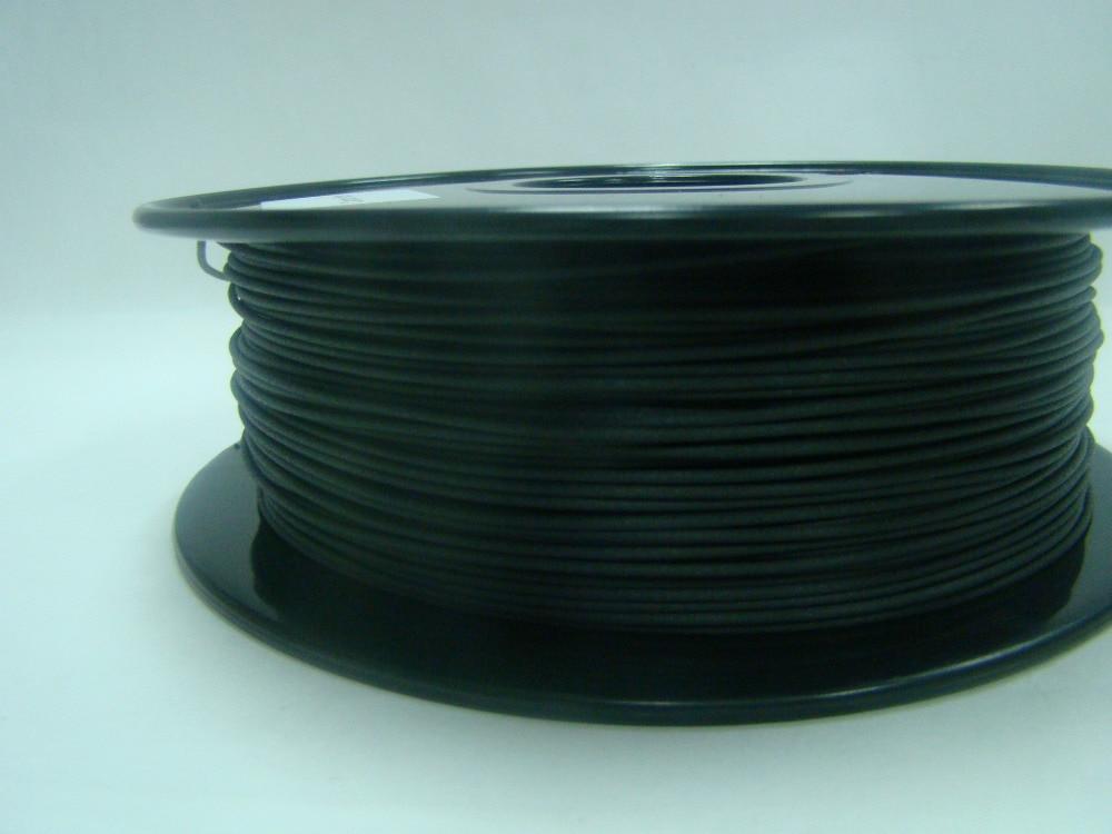 Carbon fiber material 1.75MM For 3d printer filament Consumables MakerBot RepRap UP Mendel 3d printer parts filament for makerbot reprap up mendel 1 rolls filament pla 1 75mm 1kg consumables material for anet 3d printer
