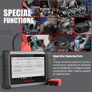 Image 5 - Autel MaxiPRO MP808K Automotive Diagnostic Scan Tool with Key Fob Programming, Active Tests, OE Level All Systems Diagnosis,