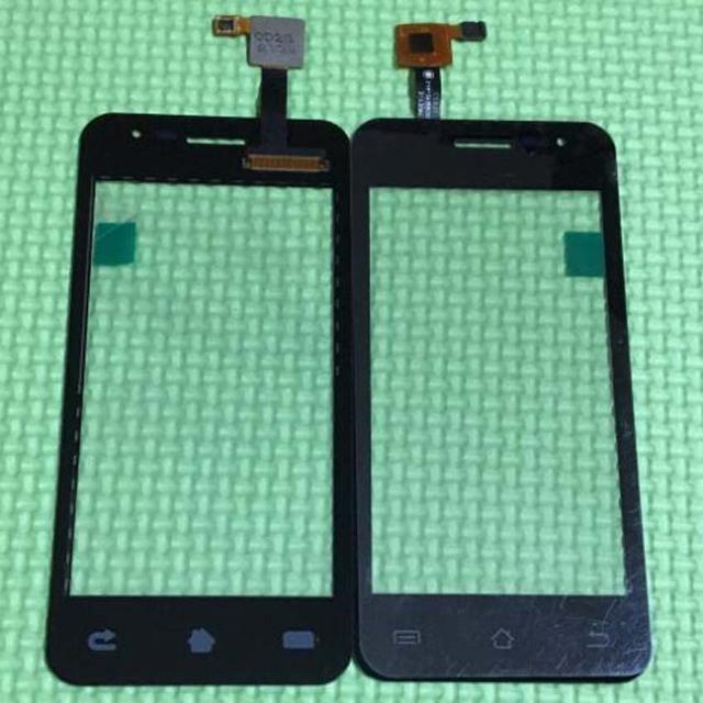 100% de garantía de JY-G2S Panel frontal exterior táctil capacitiva de vidrio digitalizador de pantalla para JIAYU G2S móvil del Sensor de reemplazo negro