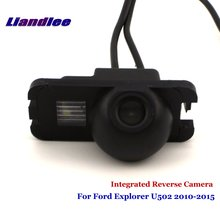 цена на Liandlee Car Backup Parking Camera For Ford Explorer U502 2010-2015 Rear View Rearview Reverse Camera / Integrated SONY CCD HD