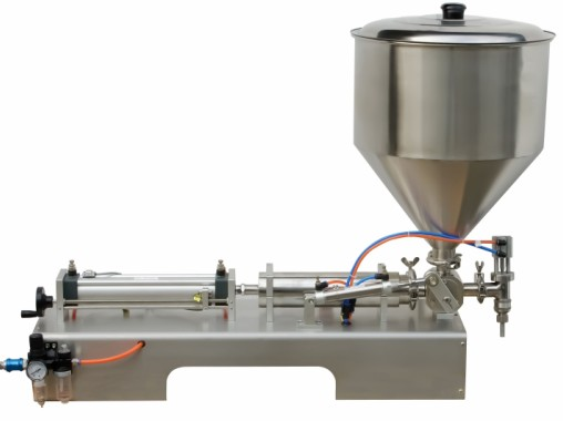 Semi automatic cream filling machine, body lotion bottle filler 10 100ml