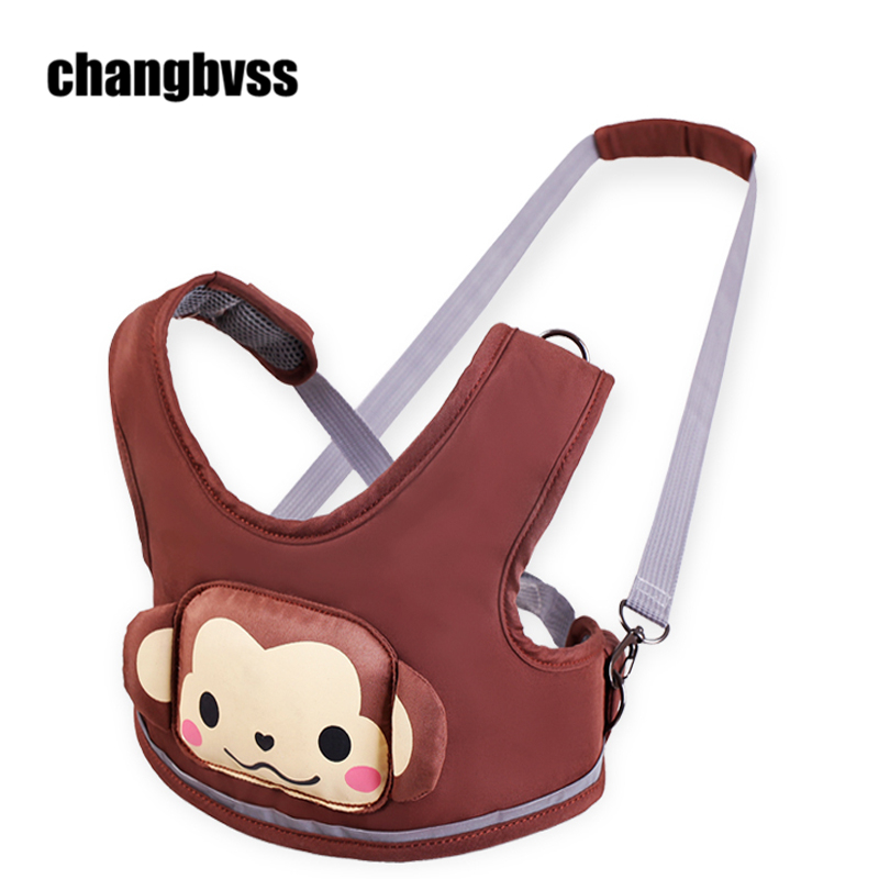 Hot Sale Cute Cartoon Pattern Toddler Baby Walking Assistant Harness