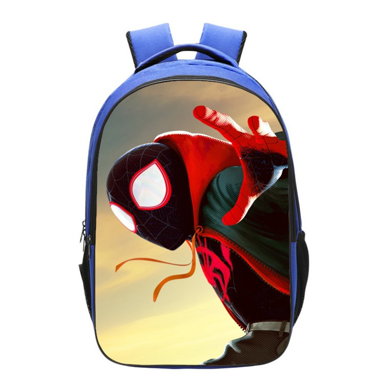 Spider-Man Into the Spider-Verse Spider Man Backpack For Teenagers Boys Girls Kids School Book Bags Cosplay Costume Props