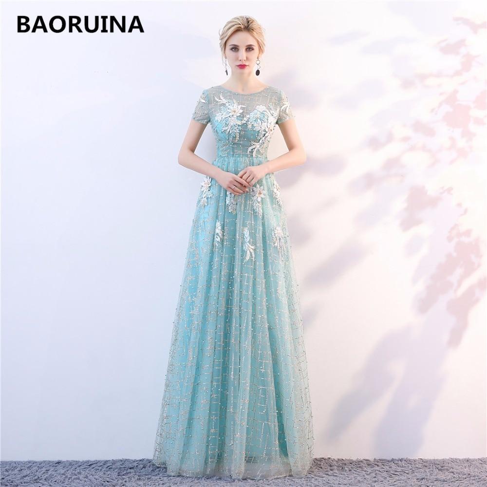 2018NEW ओ-गर्दन मोती बोडिस ओपन - विशेष अवसरों के लिए ड्रेस