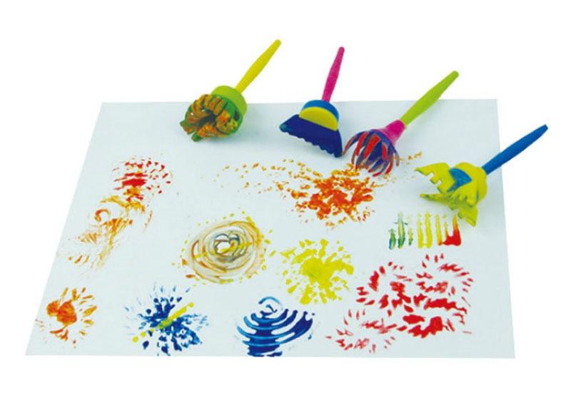 4pcs-set-Paint-Drawing-Toys-Rotate-Spin-Sponge-Kids-DIY-Flower-Graffiti-Sponge-Art-Supplies-Brushes (1)