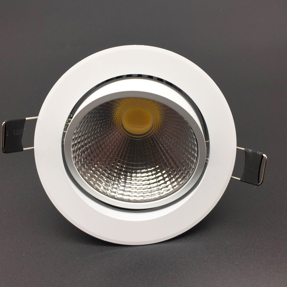 10pcs New Dimmable LED Recessed Downlight Ceiling 3W 5W 7W 12W 85 265V COB LED DownLights