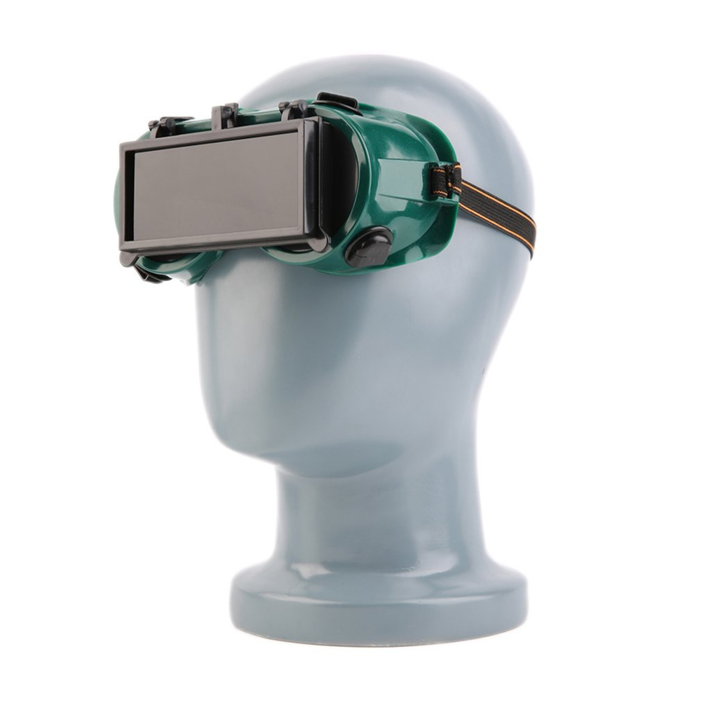 Welding Goggles With Flip Up Lenses And Easily Adjustable Headband For Soldering And Cutting 3