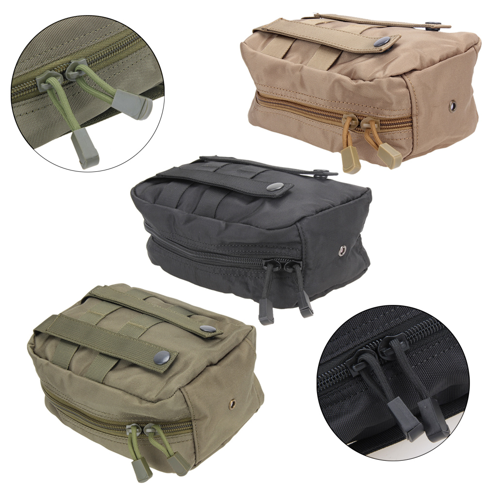 TACTICAL First Aid Bag Only Molle Medical EMT Pouch Outdoor Emergency Military Outdoor Travel bags