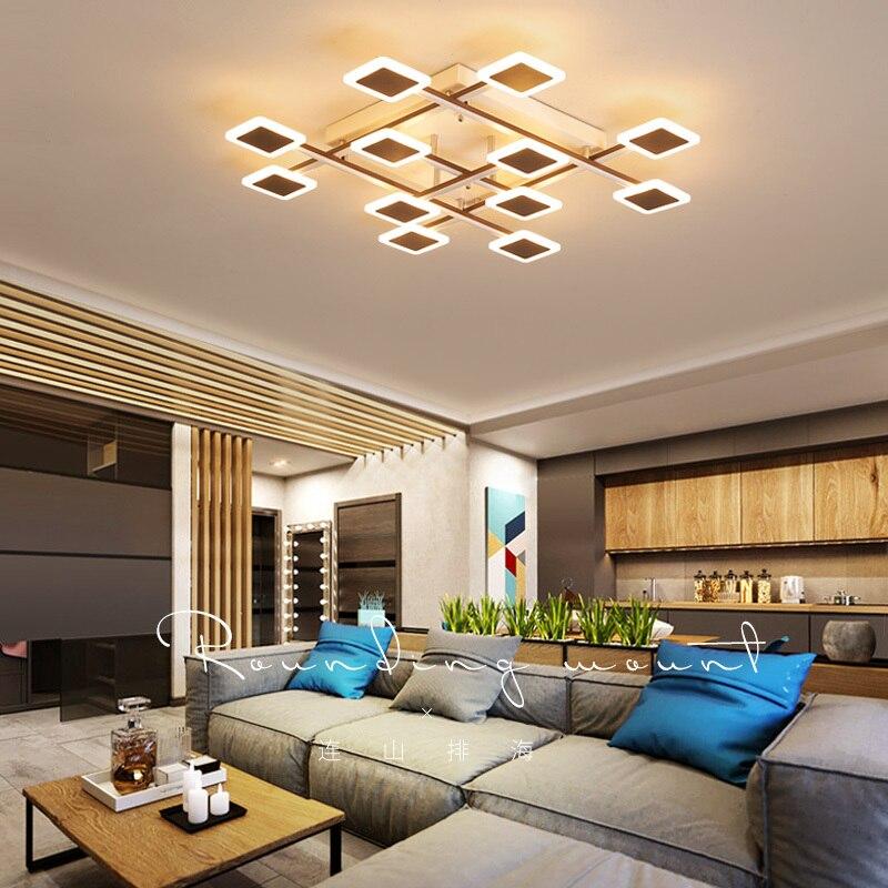 Creative Nordic nordic lamp led ceiling light Brown Modern Ceiling Lamp For Livingroom Bedroom lampara techo