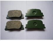 Pastilhas de freio do carro D835 automóvel para toyota camry opa windom