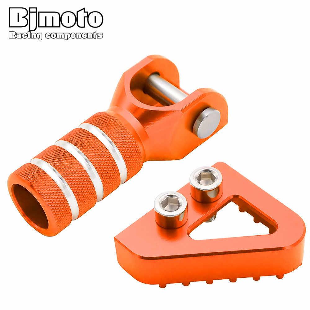 BJMOTO CNC Универсальный рычаг переключения передач для мотоцикла кончик заднего тормоза педаль шаг для KTM 690 DUKE/SMC/SUPERMOTOR SX EXC XCF