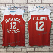 b95ff6bf Mens Spartanburg Griffins day Jerseys #12 Zion Williamson Basketball Jersey  High Quality Breathable Embroidery Customize