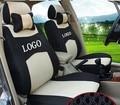 Asiento delantero 2 cubierta Para Renault Fluence laguna Latitude rojo ventilar empresa insignia Del Bordado Cubierta de Asiento de Coche