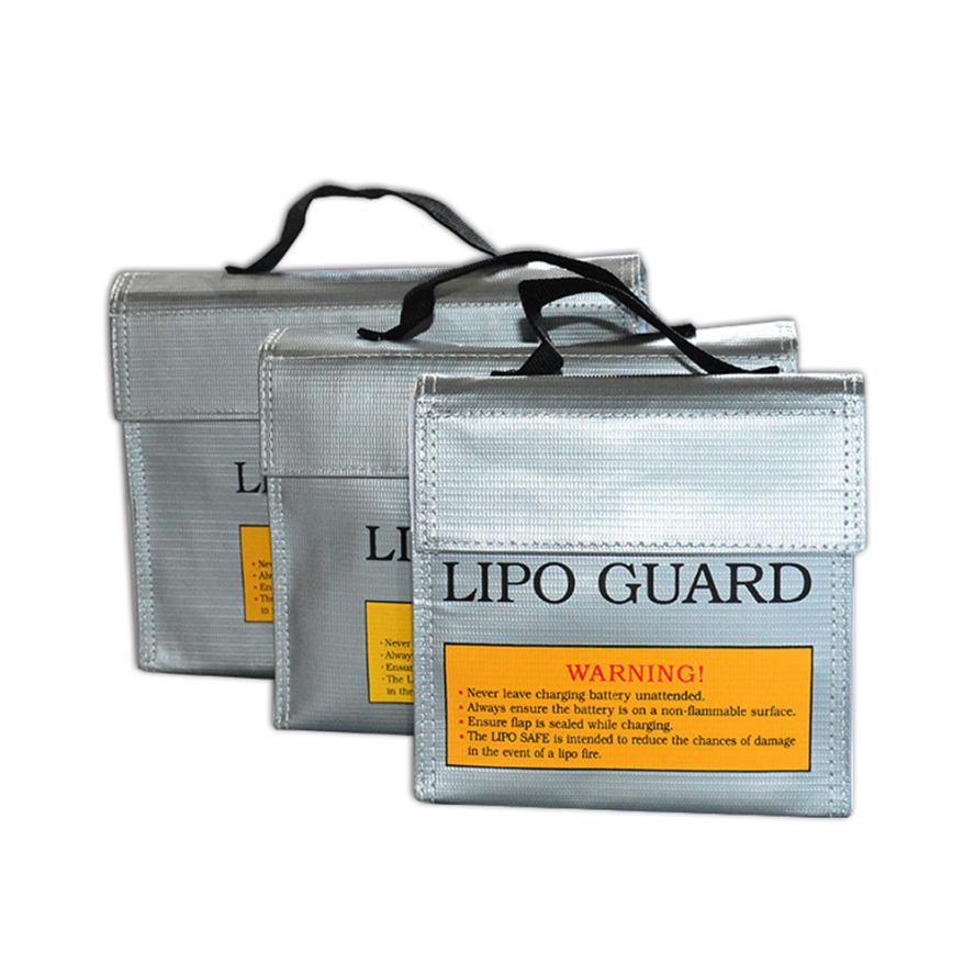 LiPo Li-Po Battery Fireproof Safety Guard Safe Bag 240*64*180MM Levert Dropship Sep16 ...