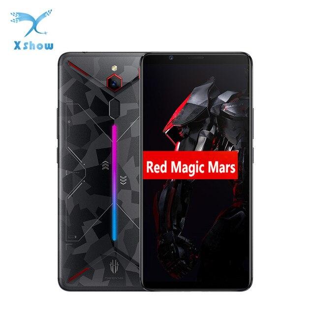 """ZTE ヌビア赤マジック火星ゲーム電話 6.0 """"6 ギガバイト/8 ギガバイト/10 ギガバイトの RAM 64 ギガバイト /128 ギガバイト/256 ギガバイト ROM キンギョソウ 845 オクタ · コアの android 9.0 スマートフォン"""
