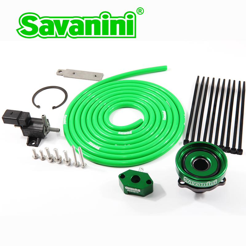 BOV Connector Adaptor For VW Golf 6 GTI 1.4t And Audi 1.4T EA111 Engine. Aluminum Alloy. Savanini Hight-quality