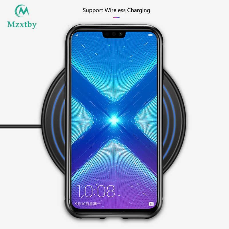 360 Magnetic Adorption Metal Bumper Glass Case for Mi Xiaomi Redmi Note 5 6 Pro 6A Pocophone F1 8 SE A2 Tempered Glass Back Case