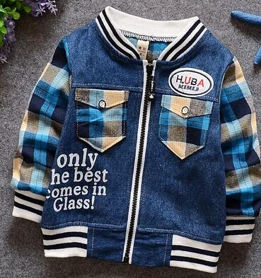 2016-Small-childrens-wear-the-spring-cowboy-splicing-cardigan-T-shirt-piece-coat-The-boy-han-edition-leisure-coat-1