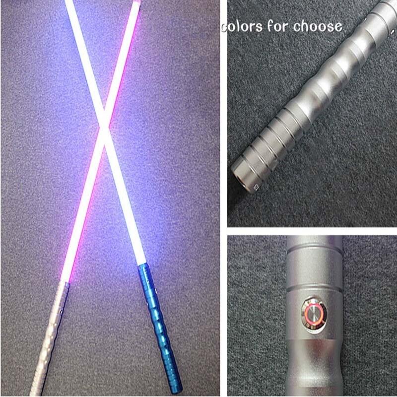 LED Lightsaber with Sound Brilliant Light Luke Black Series Skywalker Lightsaber Blue Vader Sword Cosplay Toy
