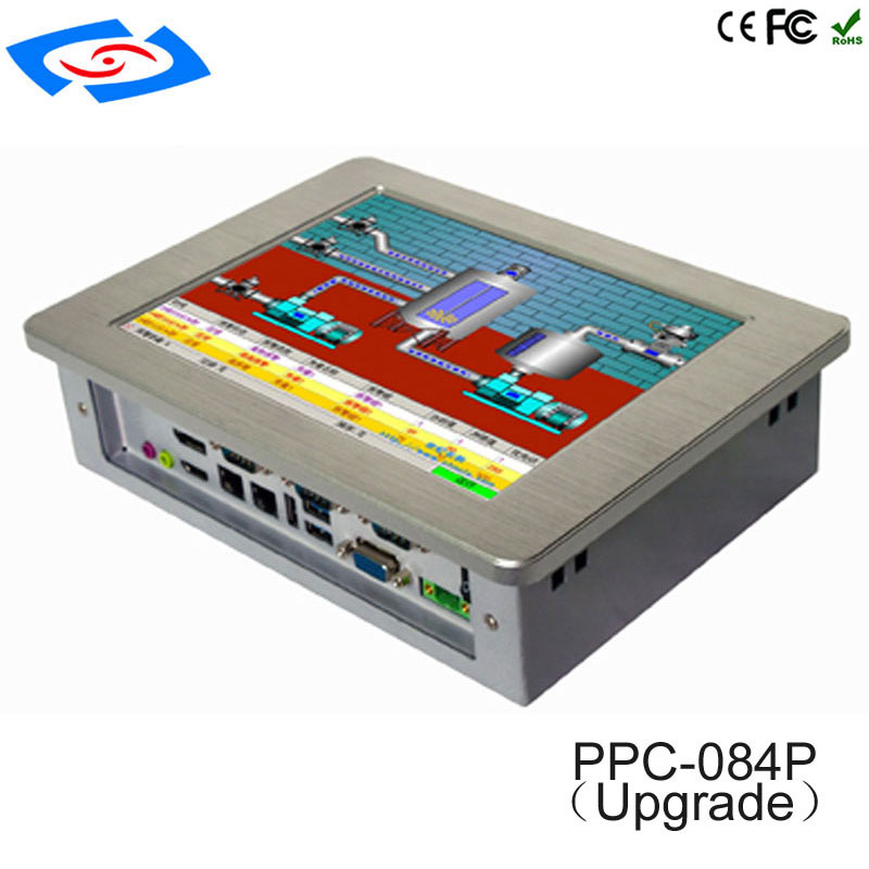 High Quality XP/Win7/Linux/Win8/Win10 Industrial Panel PC,Fanless Wide Pressure Industrial Tablet PC Application Bank ATM