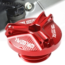 Motorcycle Engine Oil Filler Cup Cap Oil Filler Cap Plug Cover For HONDA CBR1000RR CBR1000 RR CBR 1000 RR CBR 1000RR 2004-2016 цена в Москве и Питере
