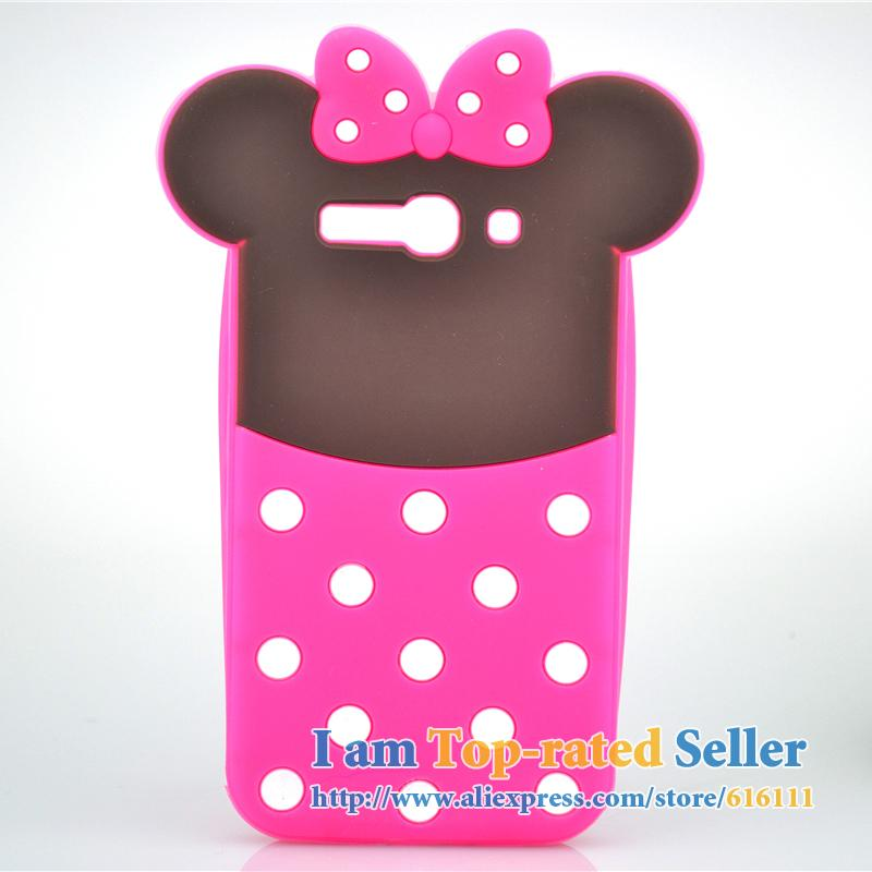 For Alcatel One Touch POP C9 Case Cartoon Minnie Mickey Mouse Soft Silicone Cell Phone Cases Covers Case Phone Case