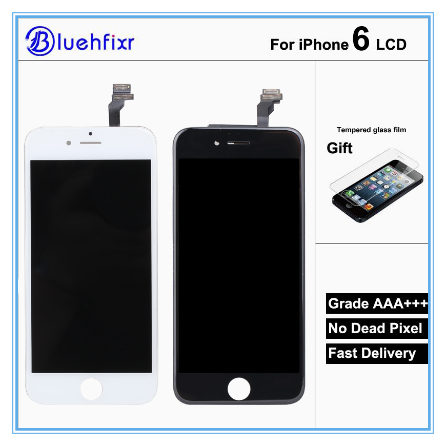AAA+ High Quality LCD For iPhone 6 LCD Complete Display Touch Screen Digitizer Assembly ReplacementAAA+ High Quality LCD For iPhone 6 LCD Complete Display Touch Screen Digitizer Assembly Replacement