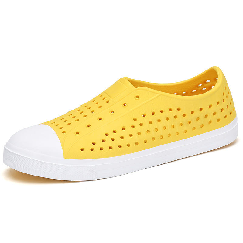 Summer Kids Shoes Beach Slippers Breathable Boys Girls Sandals Hollow Out Flip Flops Children Outdoor Slides Slip-on Sea Clogs