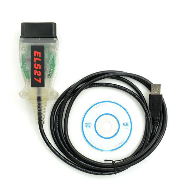 ELS27 FORScan Scanner For Ford/Mazda/Lincoln/Mercury Vehicles ELS27 FORScan Scanner OBD2 Diagnostic Cable Support ELM327 J2534