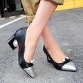 Super Stylish 5 Colors Women Pumps Pointed Toe Strange Style Heels Pumps High-qulaity Shoes Woman Plus US Size 4-16
