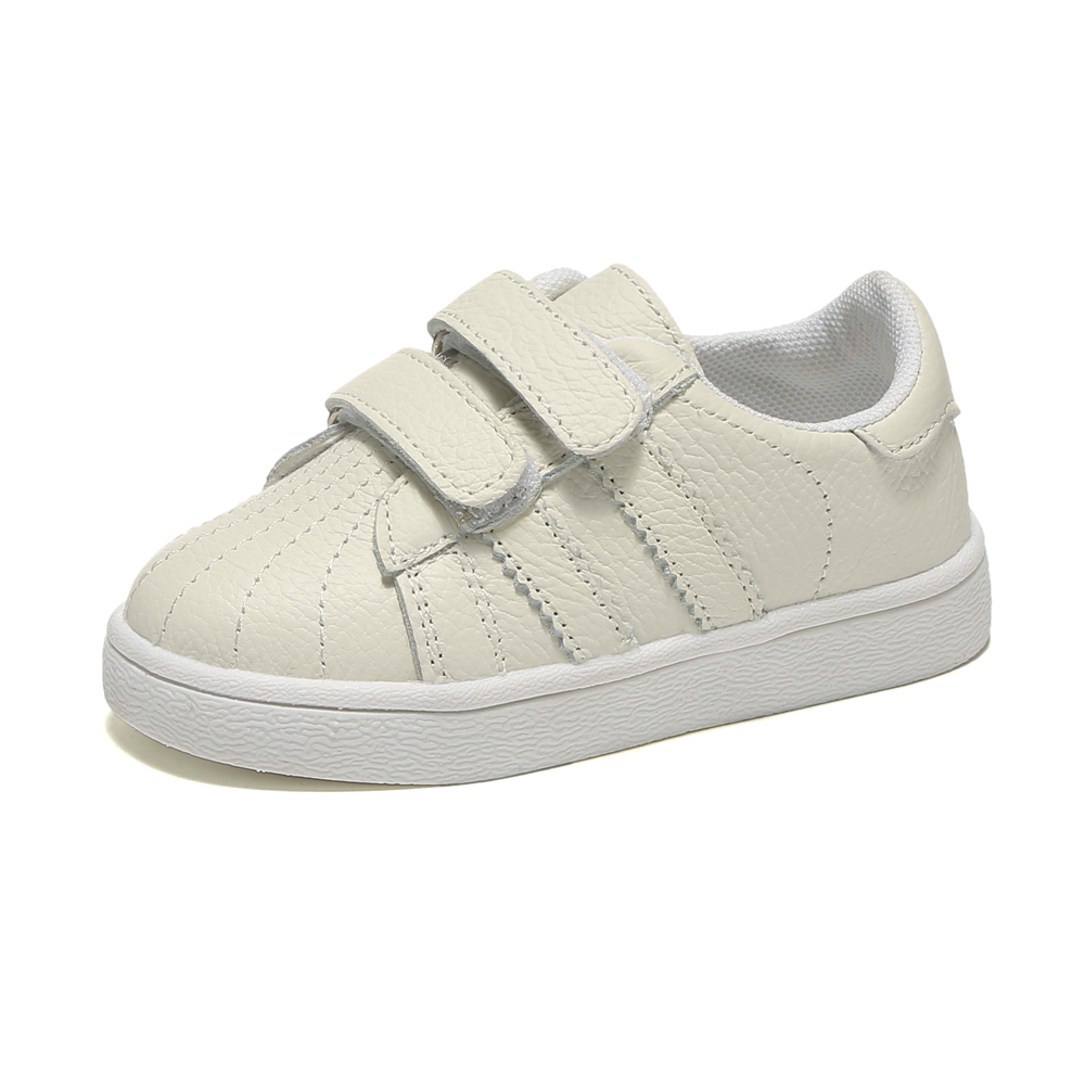 Boys Tennis Shoes Girls Sneaker Genuine Leather School Shoe White Footwear For Kids Chaussure Zapato Menino Nina Casual